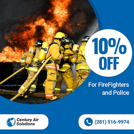 10% off for FireFighters and Police